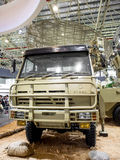 Defence Exhibition Royalty Free Stock Photos
