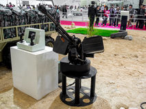 Defence Exhibition Stock Photo