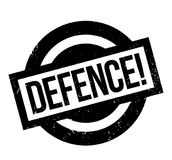 Defence rubber stamp Stock Photos