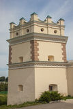 Defence tower of Ostroh Monastery - Ukraine. Stock Image