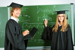 Defend diploma Royalty Free Stock Photography