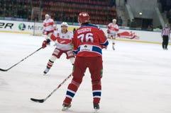 Defender Alexander Guskov № 76 Stock Photo