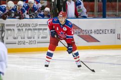 Defender Denisov Denis 6 Royalty Free Stock Image