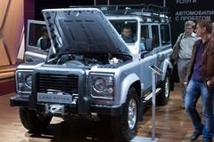 Defender Landrover Royalty Free Stock Images