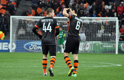 Defender and Midfielder of Shakhtar Stock Image