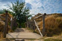 Defender place of kossaks Stock Photo