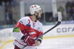 Defender of Spartak Baranka Ivan Royalty Free Stock Image