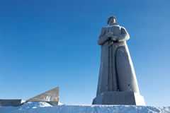 Defenders of the Soviet Arctic monument Stock Photo