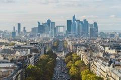 Defensa de París del La Fotos de archivo libres de regalías