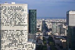 Defensa del la de París imagen de archivo