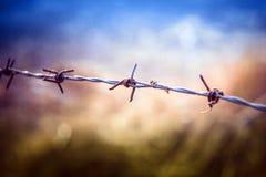 Defensa en la revolución Imagen de archivo libre de regalías