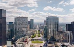 Defensa París del La fotos de archivo libres de regalías