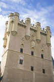 Defense, alcazar castle city of Segovia, Spain. Old town of Roma Royalty Free Stock Image