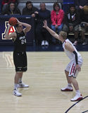 A Defense by Arizona Wildcat Kyryl Natyazhko Stock Photo