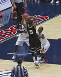 A Defense by Arizona Wildcats Fogg and Hill Royalty Free Stock Photo
