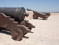 Defense canons Stock Image
