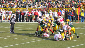 Defense of the Green Bay Packers Royalty Free Stock Photos