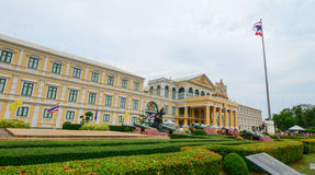 Defense Ministry Building in Bangkok, Thailand Royalty Free Stock Photography