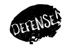 Defense rubber stamp Stock Image