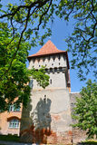 Defense tower in Sibiu. Romania Royalty Free Stock Photos