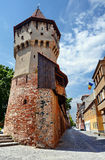Defense tower in Sibiu Stock Image
