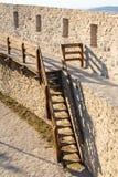 Defensiv konstruktion för stenvägg royaltyfria foton
