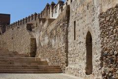 defensiv vägg royaltyfri foto