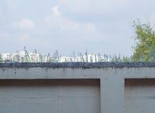 Defensiv vägg Royaltyfri Fotografi