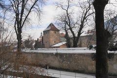 Defensiv väggDupa ziduri Fotografering för Bildbyråer