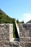 Defensiva väggar av Ston croatia Royaltyfria Foton