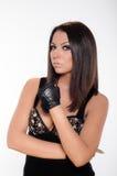 Defensive attitude Stock Photos