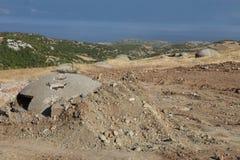 Defensive bunker, Albania Stock Photography