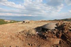 Defensive bunker, Albania Stock Images