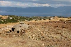 Defensive bunker, Albania Royalty Free Stock Photos
