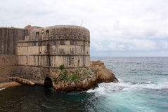 Defensive Festung in Dubrovnik, Kroatien Lizenzfreies Stockbild