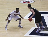 A Defensive Move by Arizona Wildcat Jordin Mayes Royalty Free Stock Photography