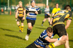 Defensive Tackle Rugby Stock Images