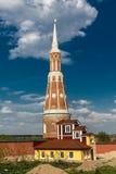 Defensive tower. Of Bogoyavlensky Staro-Golutvin monastery, Kolomna Royalty Free Stock Images