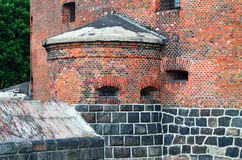Defensive tower Dohna. Kaliningrad (formerly Koenigsberg), Russi Stock Images