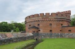 Defensive tower Dohna in Kaliningrad (Koenigsberg). Royalty Free Stock Image