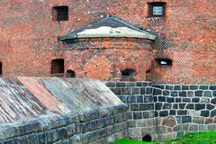 Defensive tower Dohna. Kaliningrad (before Koenigsberg), Russia Royalty Free Stock Image