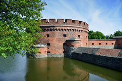 Defensive tower Dona. Kaliningrad Royalty Free Stock Photos