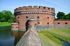 Defensive tower Dona. Kaliningrad Royalty Free Stock Photo