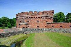 Defensive tower Dona. Kaliningrad Royalty Free Stock Photo