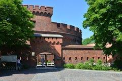 Defensive tower Dona, Kaliningrad Stock Image