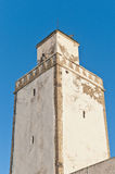Defensive Tower on at Essaouira, Moroc Royalty Free Stock Photography