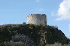 Defensive Tower, Plymouth Devon UK. Royalty Free Stock Photo