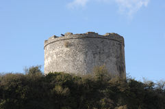 Defensive Tower, Plymouth Devon UK. Stock Image