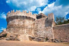 Defensive Tower of Populonia Stock Photography
