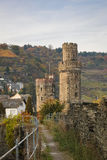Defensive towers of Oberwesel, Germany Stock Image